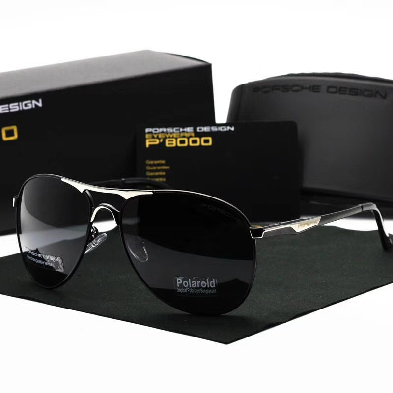 cbaa7fe8c7e Rebel Polarized Rectangle Male Sunglasses RBL7817R NN021 - Black ...