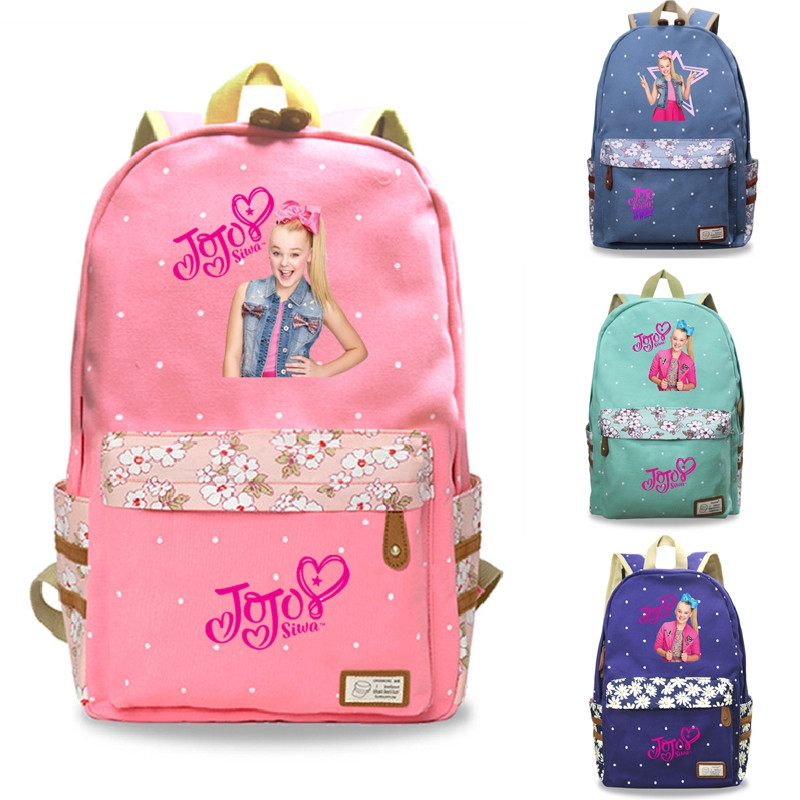 UK JoJo Siwa Bag Girls Backpack Rucksack Kids Student School Shoulder Bags 14/'/'