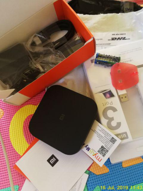 Xiaomi Mi Box S Mibox S Android International Global Android