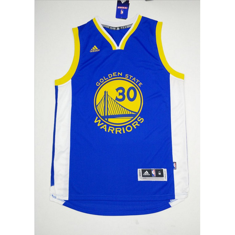 watch fcee5 8d151 Adidas NBA Warriors Stephen - Curry Jersey Blue No. 30 Sports jerseys