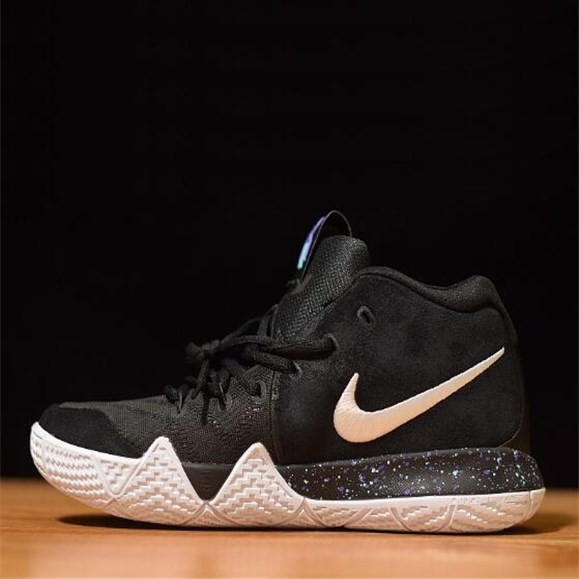 new style 1b9eb 83e91 Nike Kyrie 4 EP Kyle Irving 4 Mens Basketball Sports Shoes Limited Black  White
