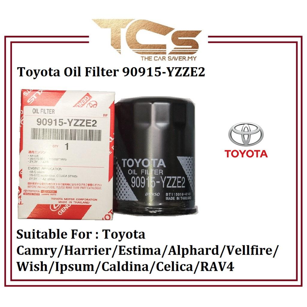 Toyota Oil Filter 90915-YZZE2