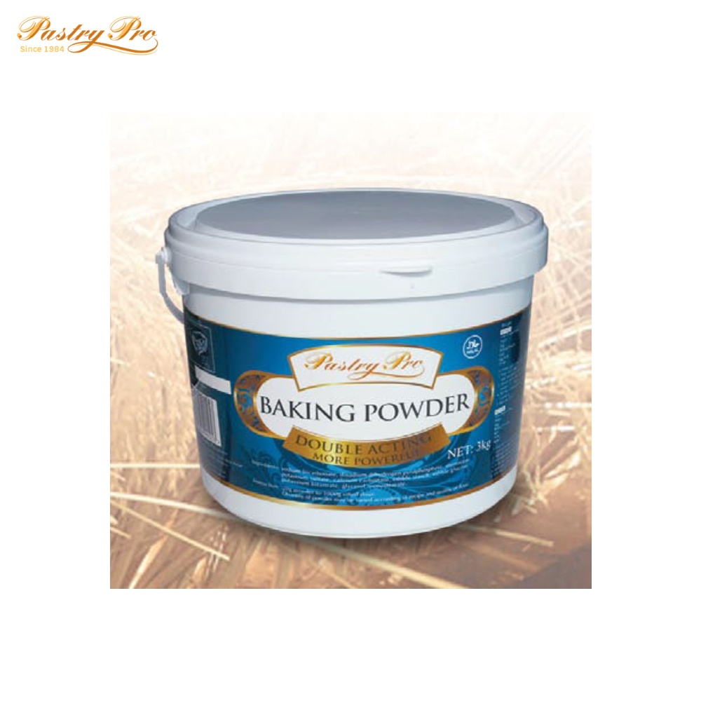 Pastry Pro, Baking Powder, Double Acting, 3 kg