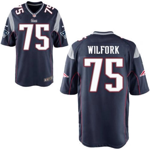 best sneakers b94bf 50131 New England Patriots Vince Wilfork NFL Jersey