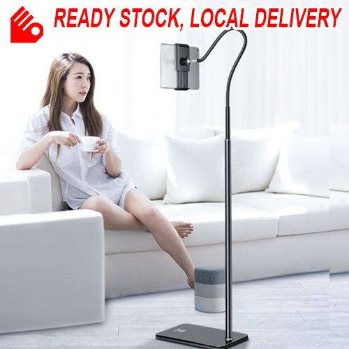 Portable Tablet Floor Stand Bedside Adjustable IPad Smart Phone