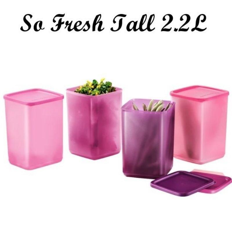 Tupperware So Fresh Tall 2.2L (4pcs)