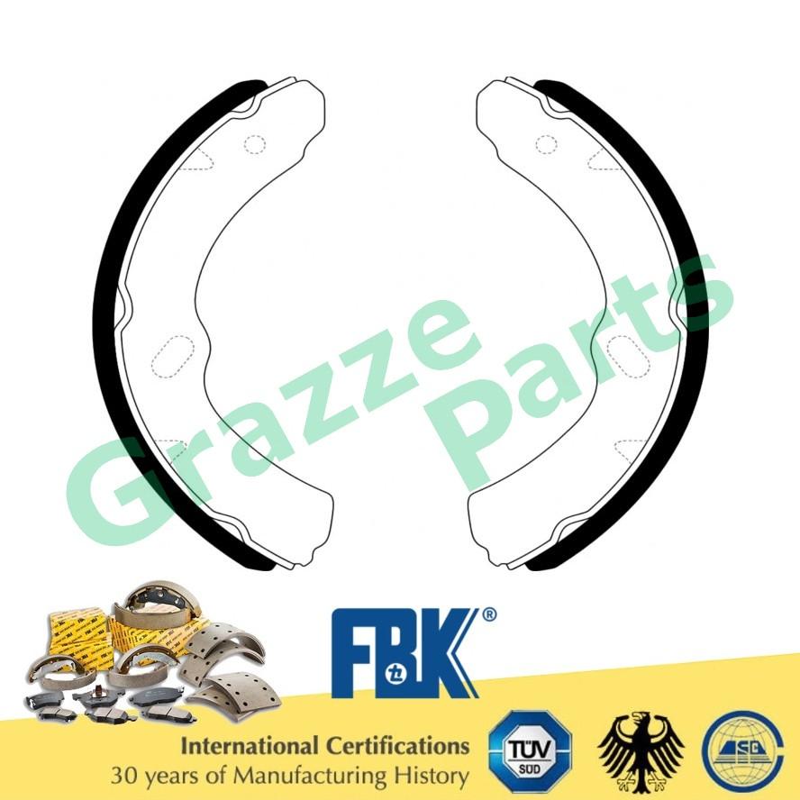 FBK Brake Shoe Front and Rear for FK4459R Isuzu Hicom 4.3 MTB 160 170 (Double Tyre)