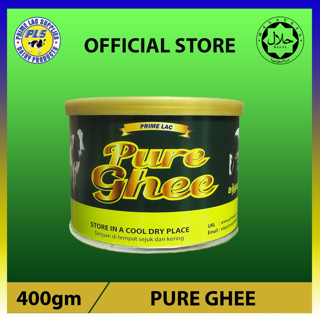 400gm PrimeL Pure Ghee Halal (Minyak Sapi Tulin) Imported from New Zealand