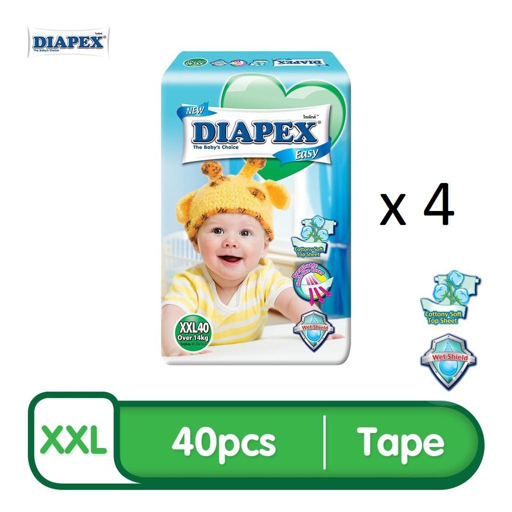 DIAPEX Easy Mega XXL (40pcs x 4)