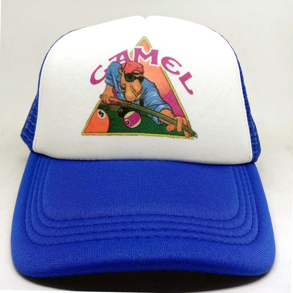 Women Men Punk Rock Cap Snooker Unisex Flat Brim Baseball Caps