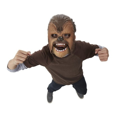 New Star Wars The Force Awakens Chewbacca Mask Electronic Voice A86R