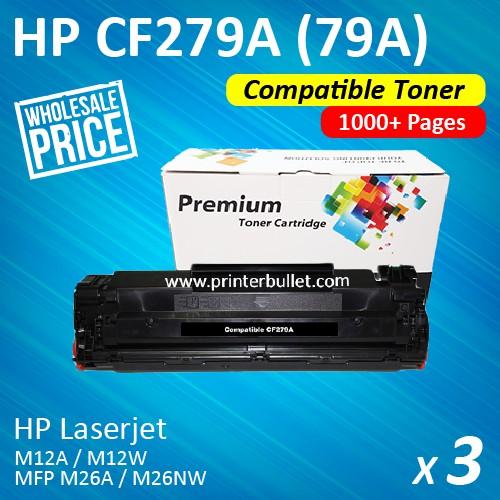 HP 79A Black Original LaserJet Toner Cartridge CF279A / 279A | Shopee Malaysia