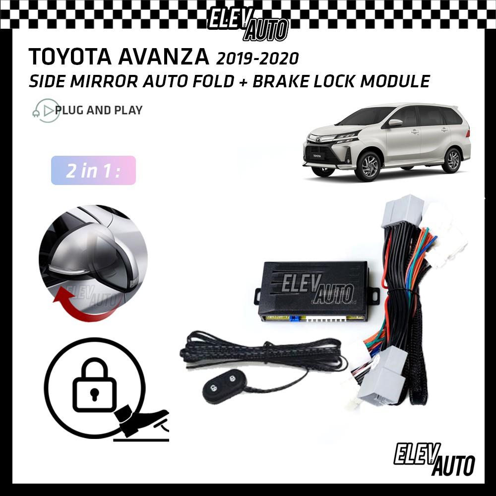 Toyota Avanza 2019-2021 Side Mirror Auto Fold & Brake Lock Module (2 in 1)