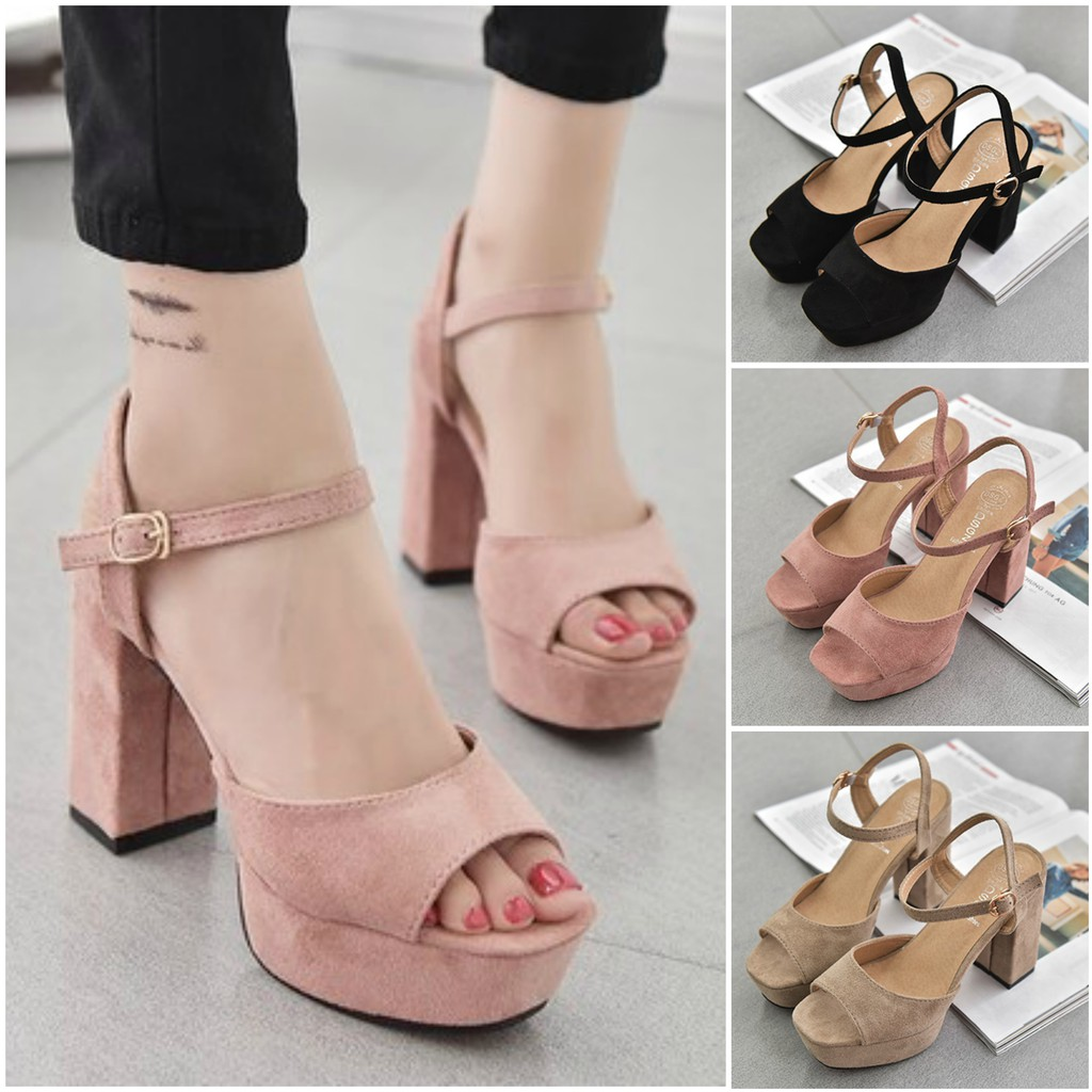 3 Colors Women Heels25Preorder Elegant Casual High PXnO8w0k