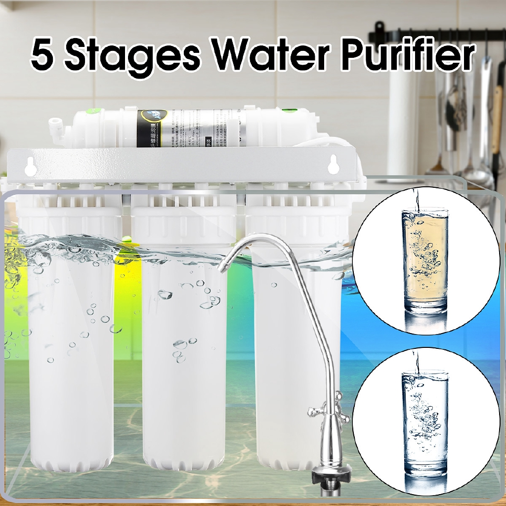 5 Stage UF Home Drinking Ultra Filtration System Purifier Water Filters  Faucet Household Ultra Filtration Water Filter