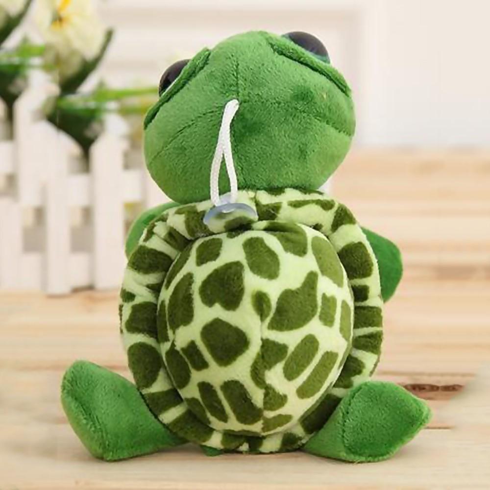 Cute Big Eye Eyelid Tortoise Turtle 3D Stuffed Doll Plush Soft Hug Pillow Toy 6A