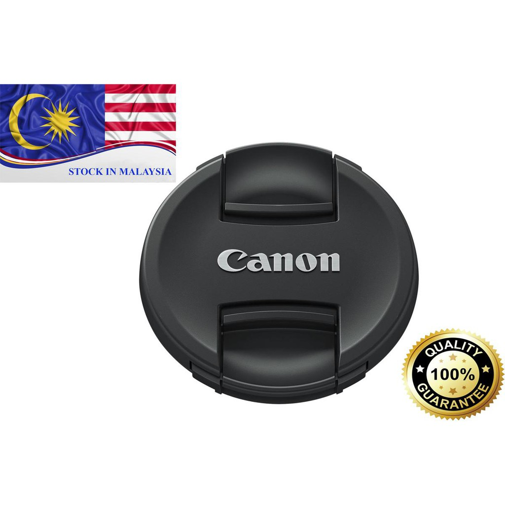 Canon E  Front Lens Cap 52mm to 77mm (Ready Stock In Malaysia)