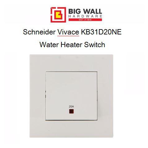 Schneider Vivace KB31D20NE 20A Water Heater Switch