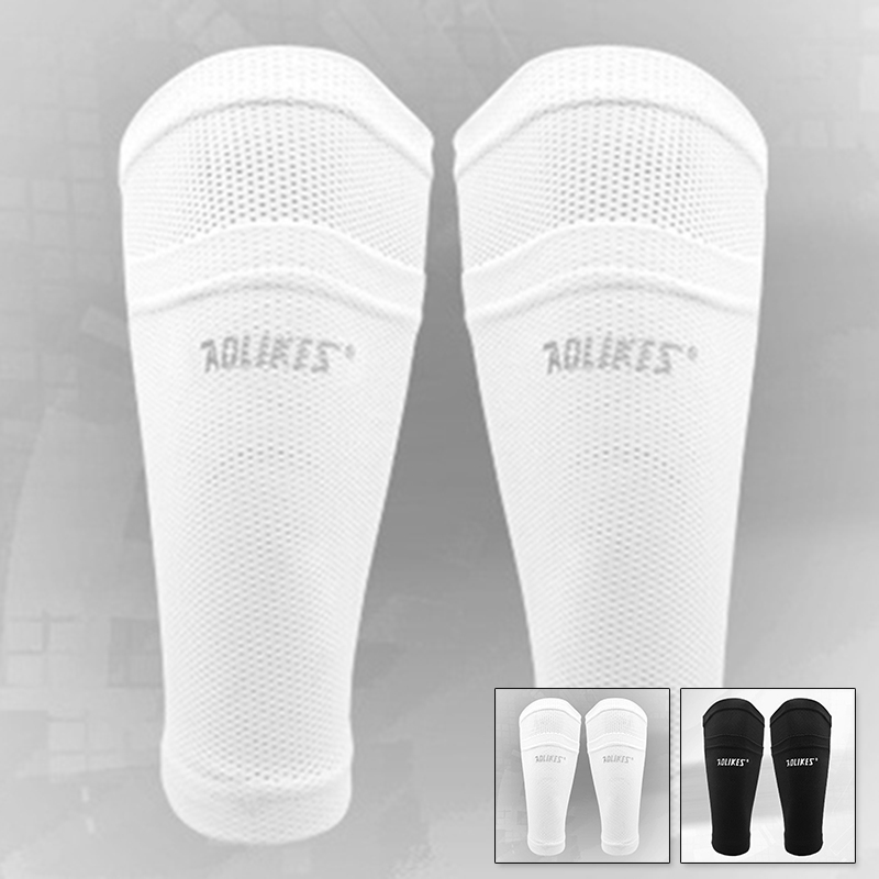 Shin Pads Protector Socks Football Soccer Sleeves Holder Guards Sports Outdoor Professional 1pc Training Support
