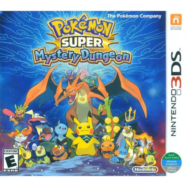 Original Nintendo 3DS Pokemon Super Mystery Dungeon USA English