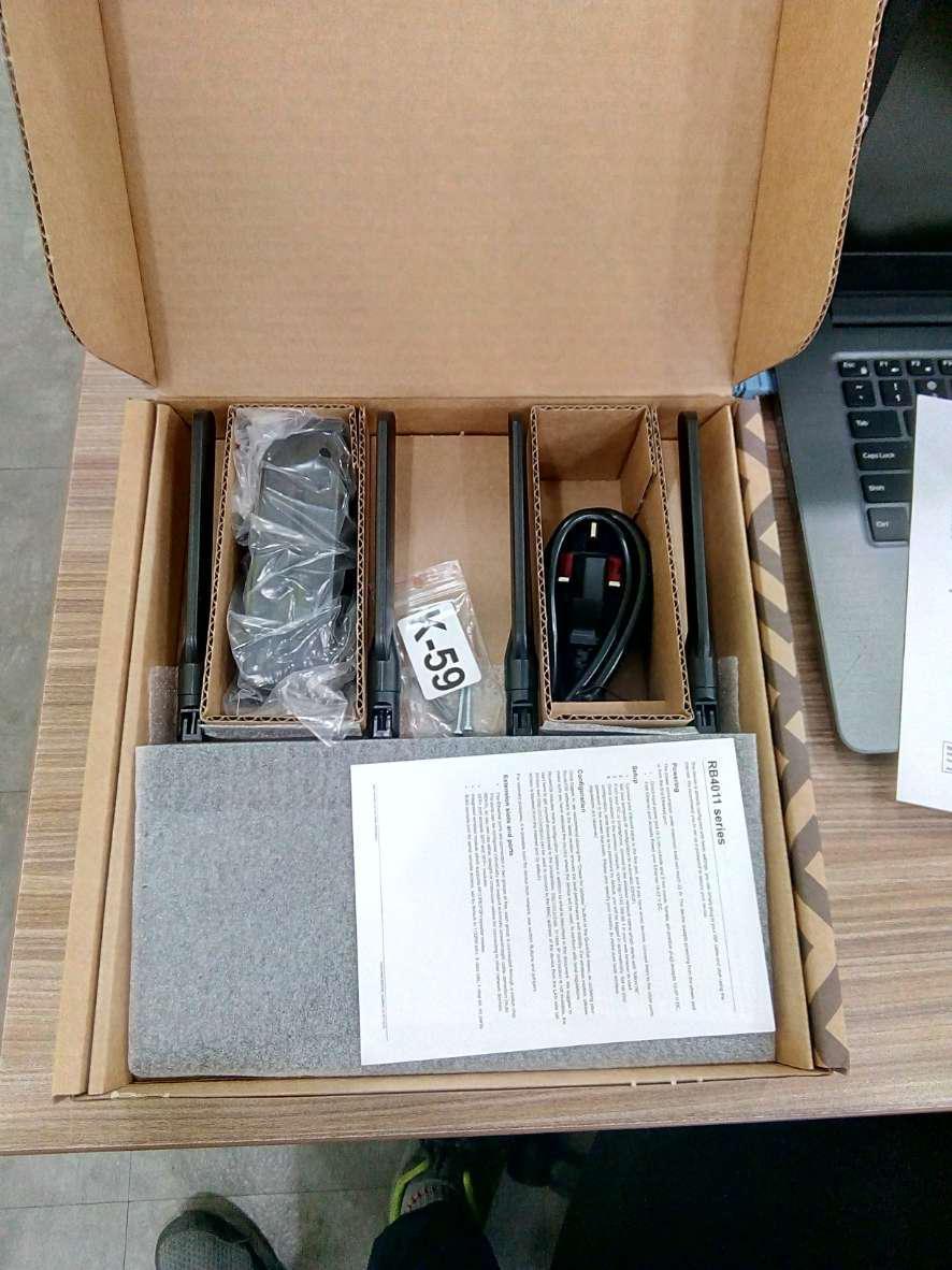 RB4011iGS+5HacQ2HnD-IN Mikrotik 10G Gigabit WiFi ac Router
