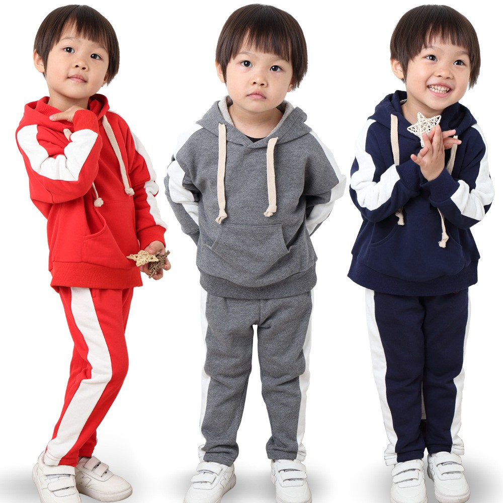 Boys Girls 2019 Autumn Clothing Sets Boys Tracksuits Children 2-7 Years  Birthday suit Kids Sport Suits Hoodies Pants   Shopee Malaysia