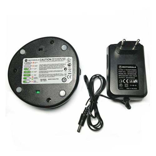MOTOROLA CP1300/CP1600 PMLN5228A Rapid Desktop Charger