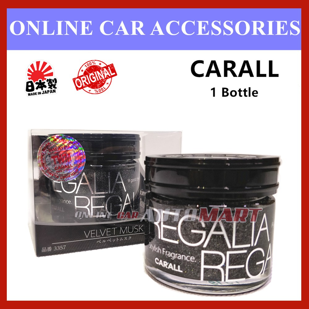 2019 New Model 3357 Carall Regalia Enrich 1386 Second Generation Velvet Musk Car Air Freshener Perfume (Made In Japan