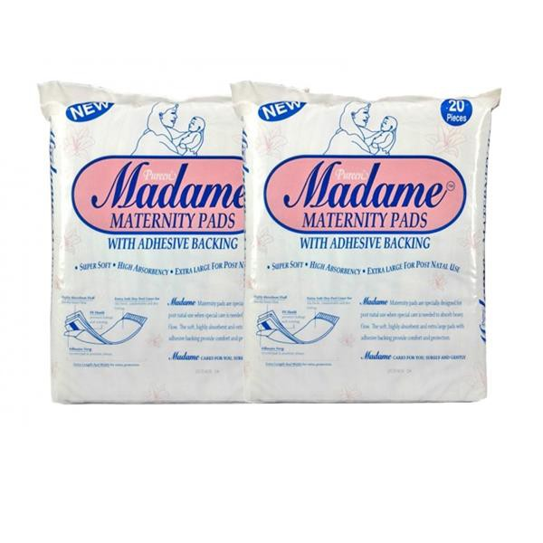 Madame Maternity Pads 20's x 2