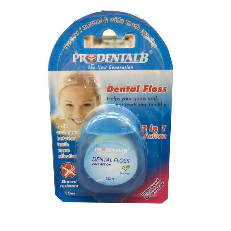 Pro Dental Dental Floss 2In1 50m