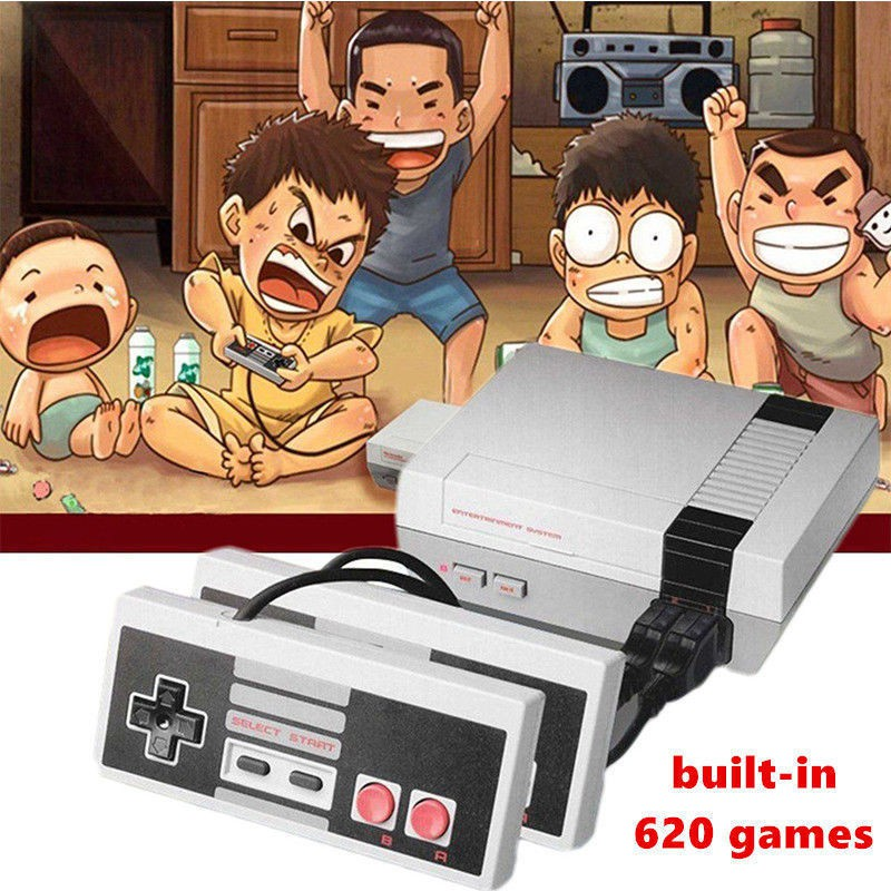 Mini Game Anniversary Edition 620 Games Built In Entertainment System Nes Shopee Malaysia