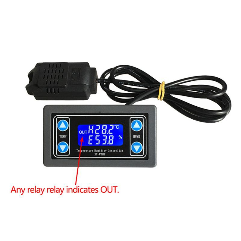 XY-WTH1 Digital Humidity&Temperature Controller Thermostat Hygrometer on