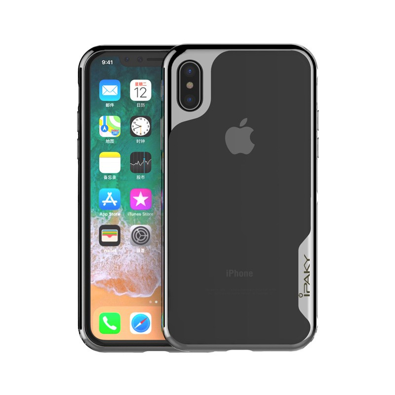 Ipaky For Apple iPhone X/Iphone 10 Super Series TPU Frame +PC Back Case