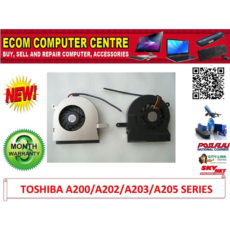 CPU Fan Toshiba Satellite A200 A202 A203 A205 Series