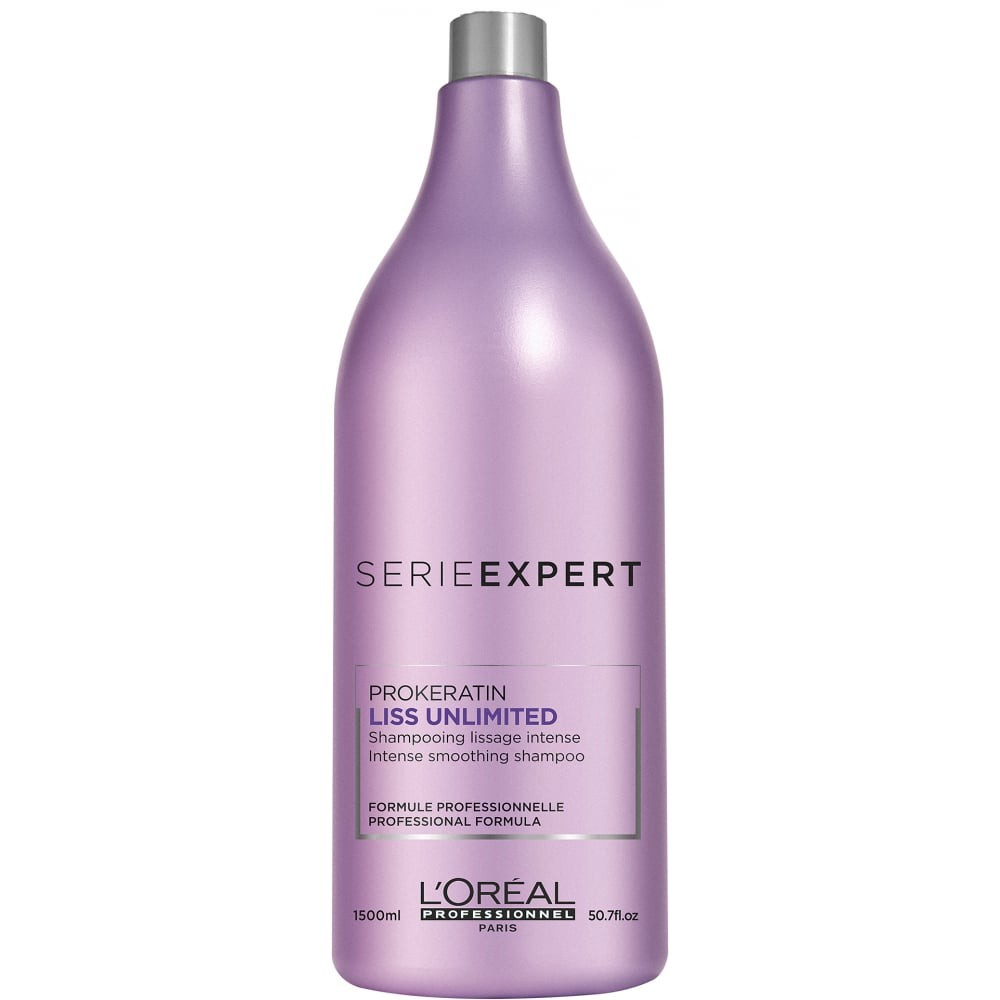 Image result for l'oreal professional liss unlimited shampoo 1500ml