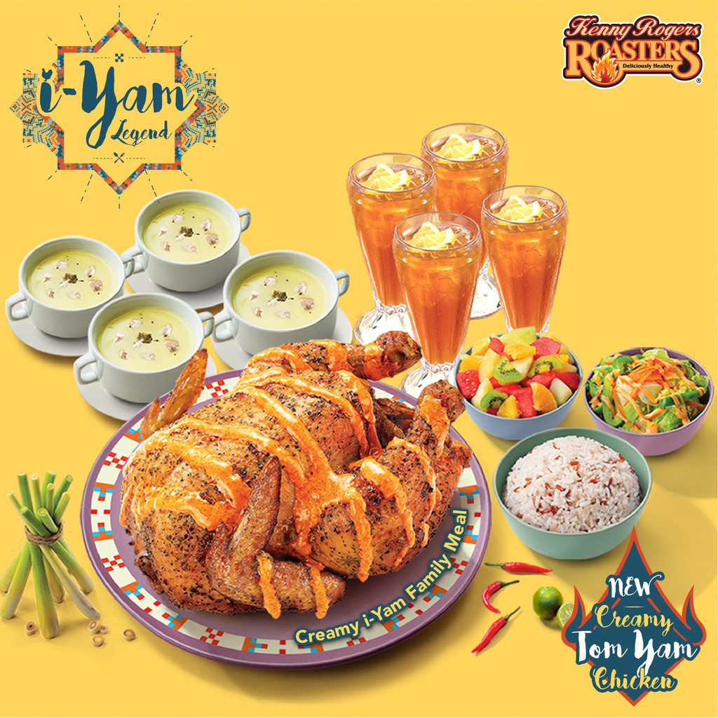 Image result for kenny rogers i-yam meal