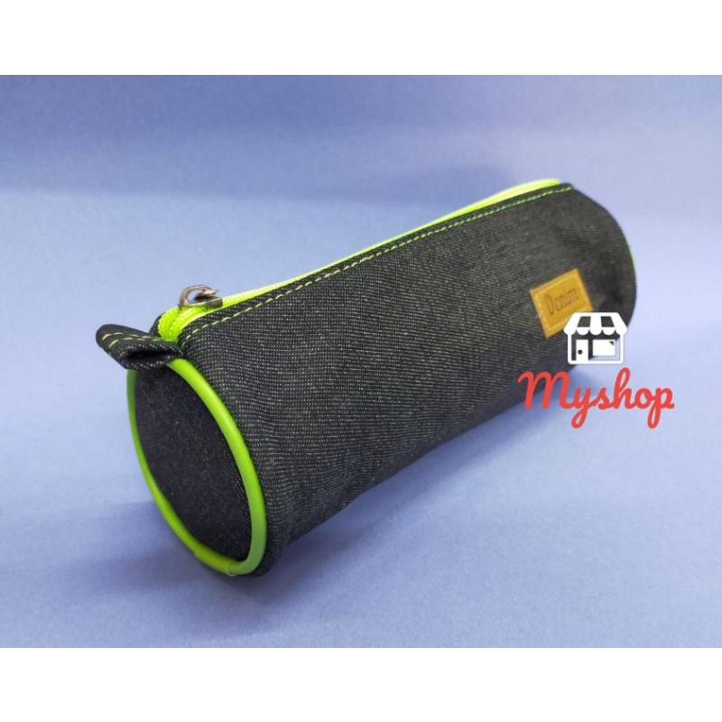 Dolphin Cotton Colour Zip Pencil Bag DOL-DEN805