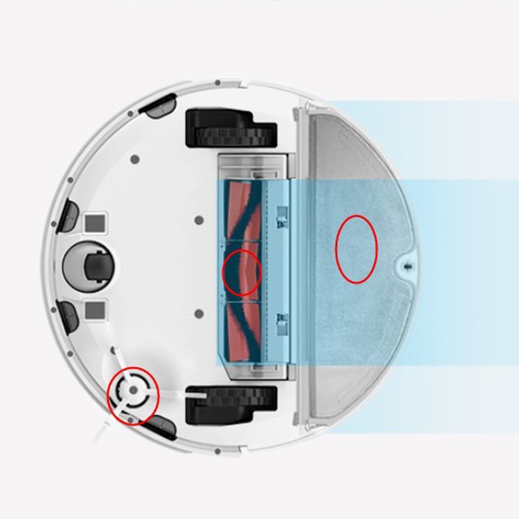 Shiwaki☄5Pcs Main Brush+HEPA Filter+Side Brush for XIAOMI Mi Robot Vacuum Cleaner