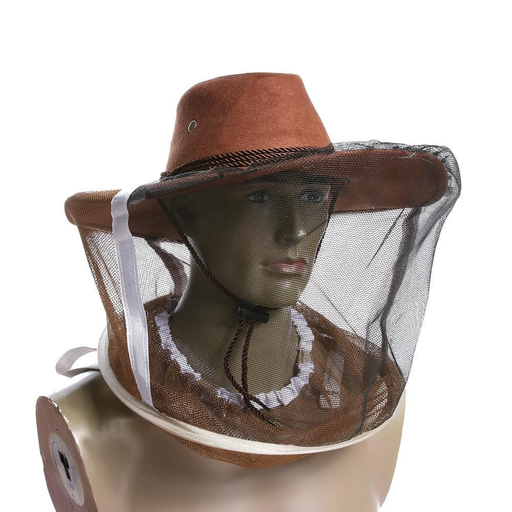 Sea Beekeeper Bee Insect Fly Mask Hat with Net Mesh Face Protective  Equipment  d57de4627e03