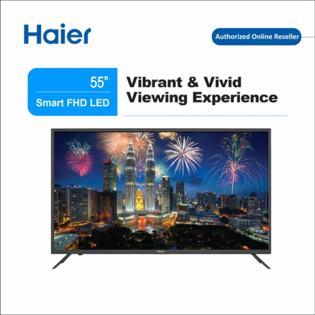 Haier (55'' Inch) UHD 4K Smart Series Smart TV LE55K6500UA