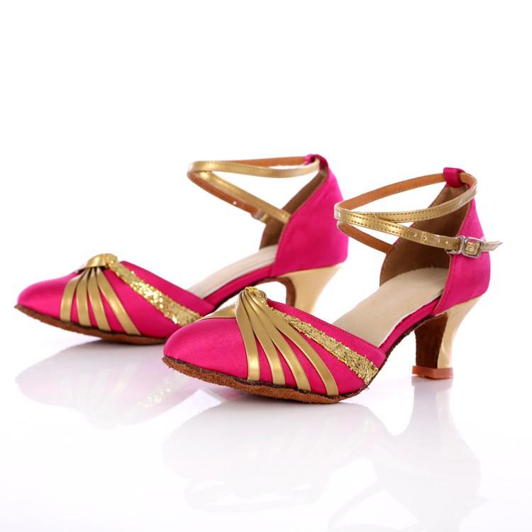 9396066a5b507 New ladies' Latin dancing shoes, soft-soled ballroom dancing shoes 5/7cm