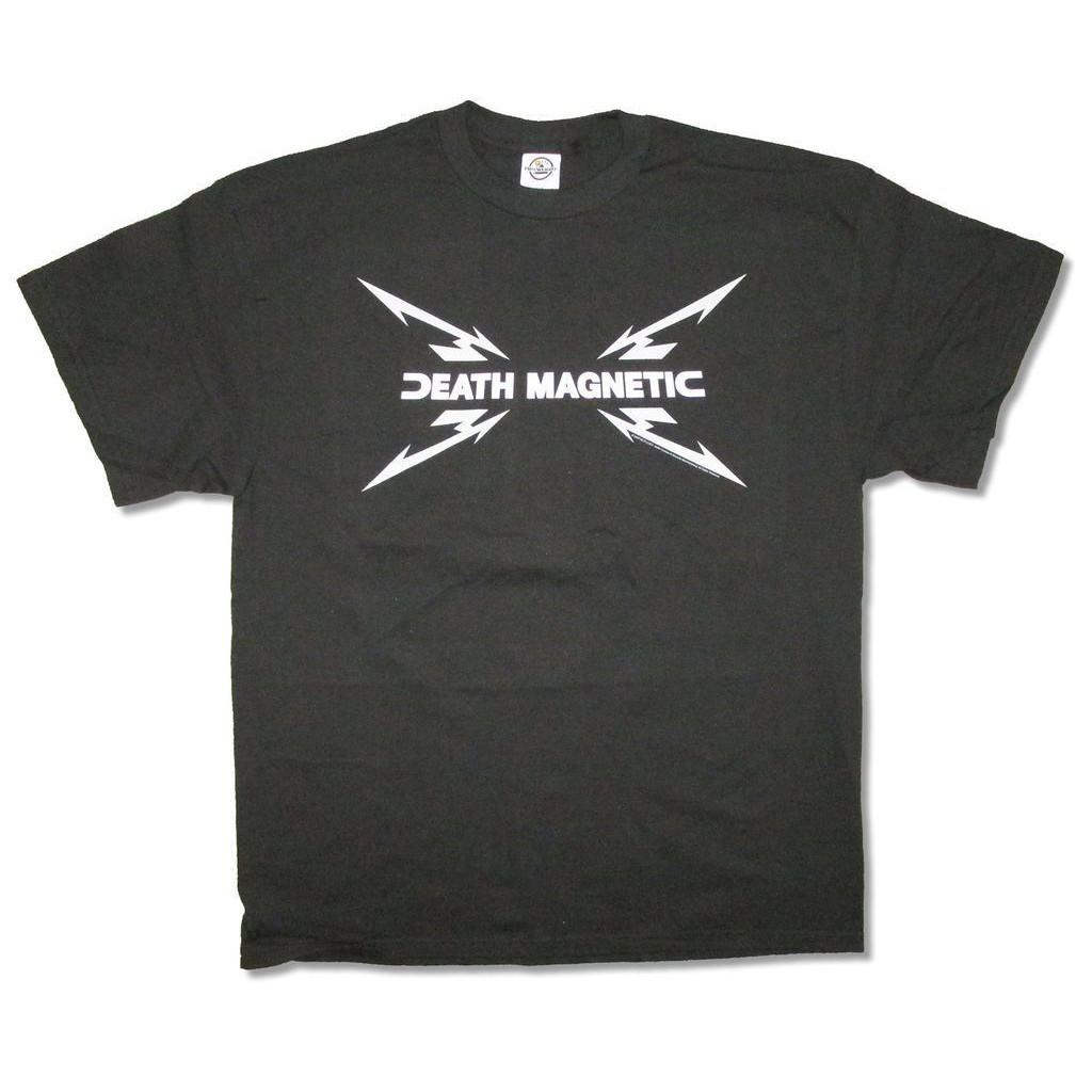 a06c3d99c71ee HNLA Metallica Death Magnetic Usa Adult Cotton Short Sleeve Cotton round  Men T Shirt tee top