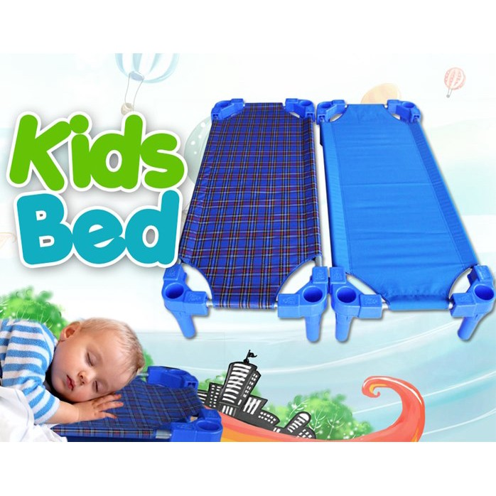 [READY STOK] (5 Set/Pack) Kids Kindergarten Stackable Bed Portable Daycare Bed Children P