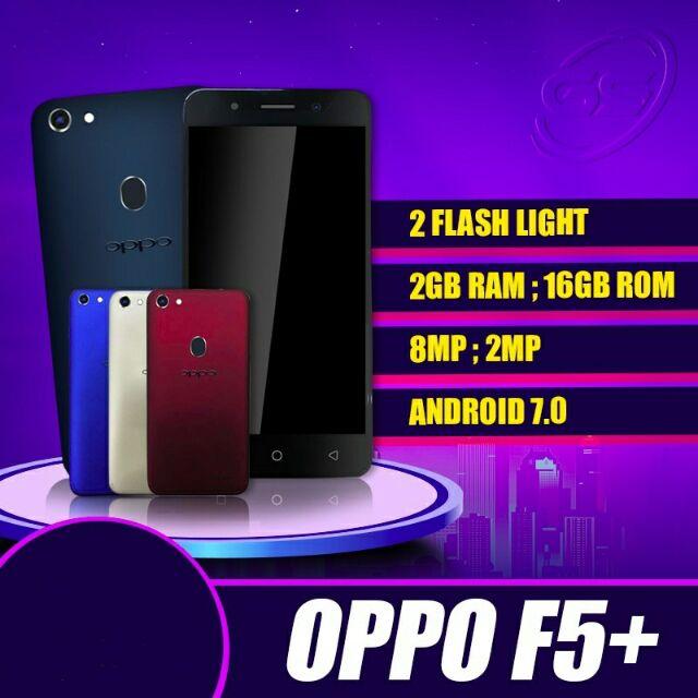 Oppo F5 Plus (2GB ram + 16 GB rom) import set