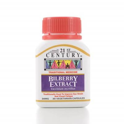 21ST CENTURY BILBERRY EXTRACT 30's
