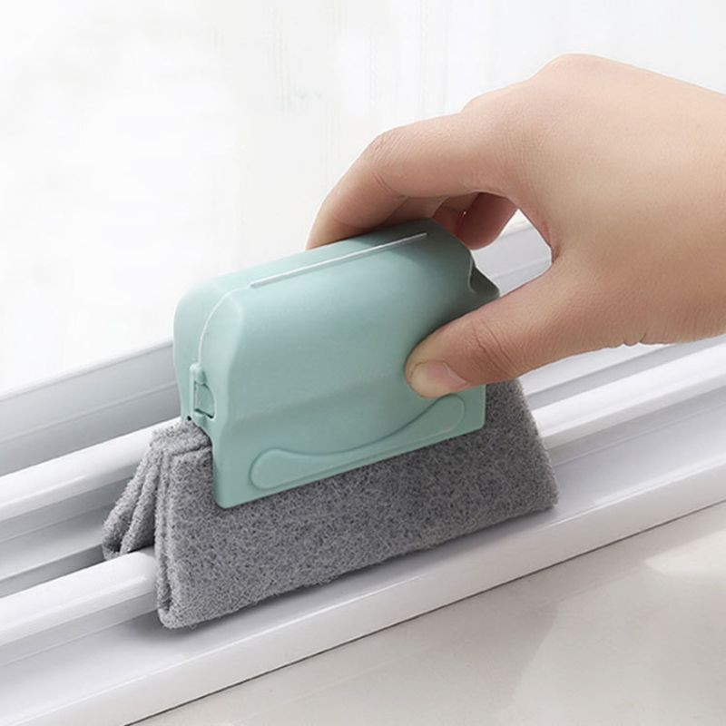 窗户槽沟清洁刷窗槽清洗工具扫凹槽的小刷子扫门窗沟的刷子百洁布