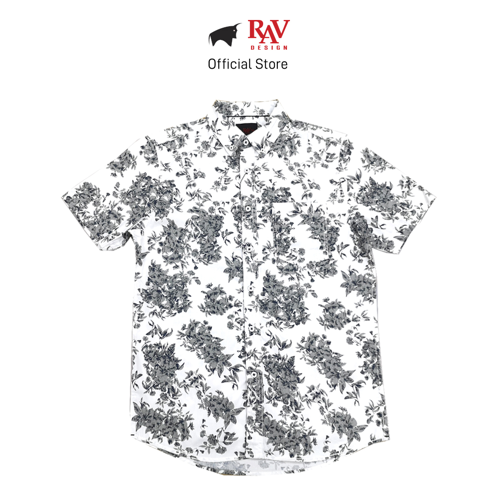 RAV DESIGN 100% Cotton Woven Shirt Short Sleeve |RSS31732002