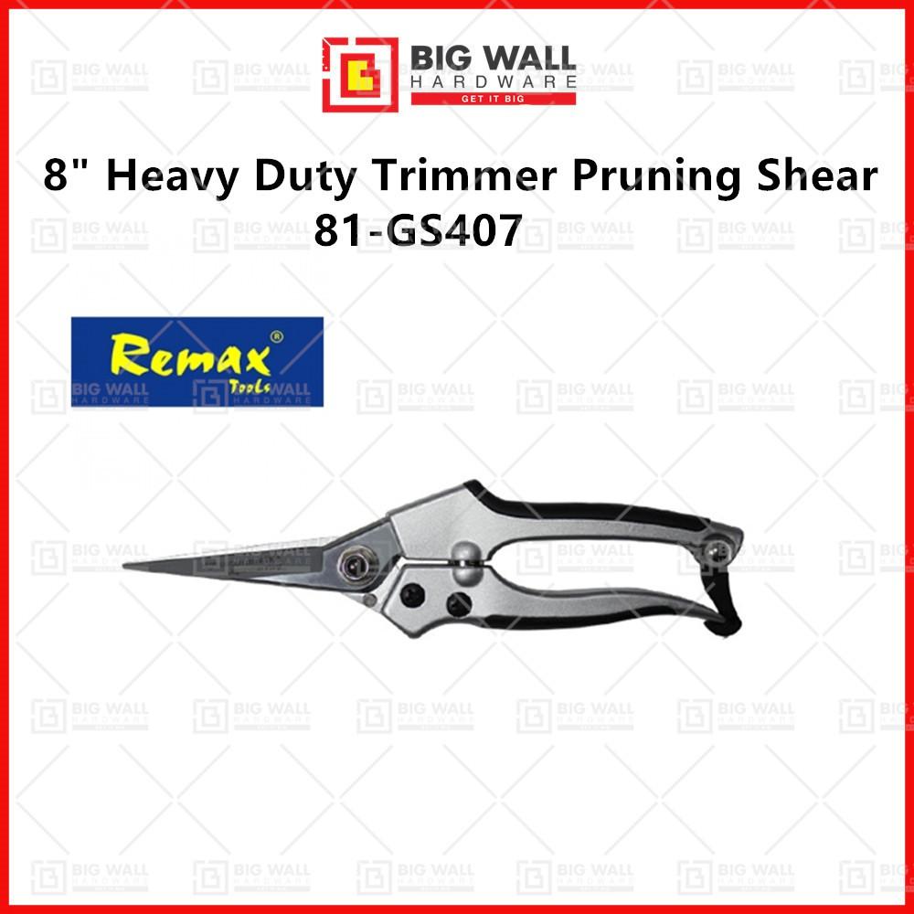 "Remax 81-GS407 8"" Heavy Duty Trimmer Pruning Shear (Big Wall Hardware)"