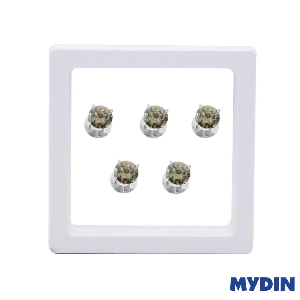 Armaan Button Zircon Green 9MM SACTDG-18 #Raya