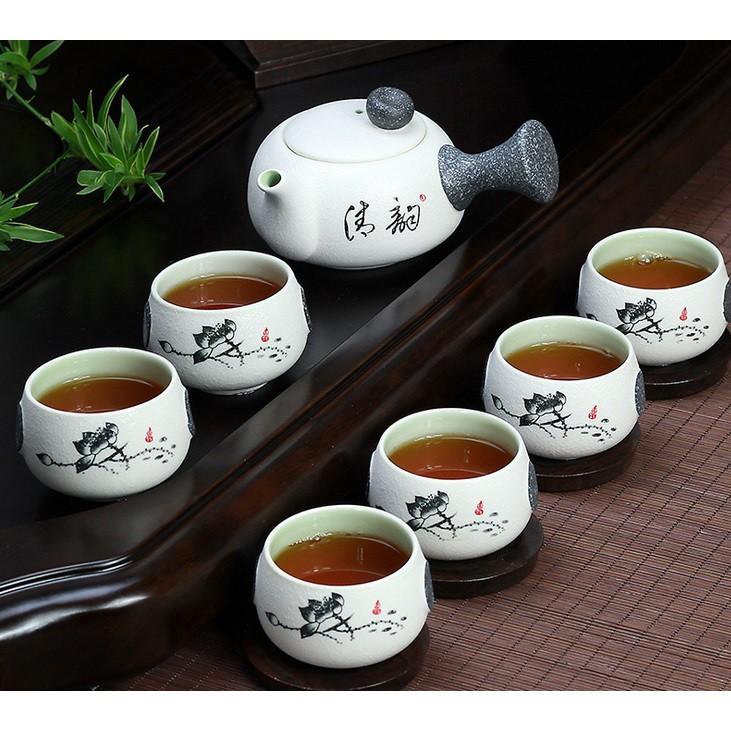 6 cups Chinese Porcelain Tea Set